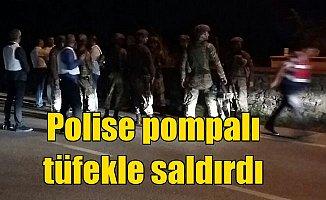 Bursa polisini alarma geçiren saldırı: 2 polis yaralı