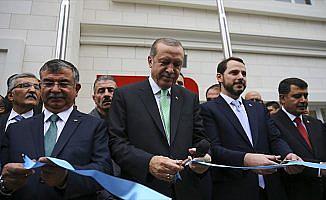 Erdoğan, Samiha Ayverdi Anadolu Lisesi Açılış Töreni'ne katıldı