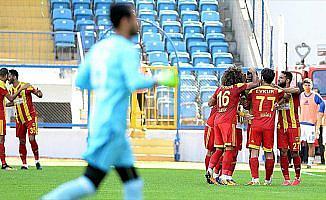 Evkur Yeni Malatyaspor deplasmanda galip