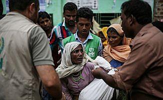 İHH, 45 bin Arakanlı'ya yardım ulaştırdı