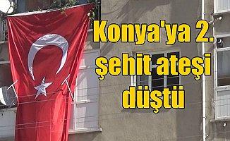 Konya'ya ikinci şehit ateşi; Akşehir şehidini bekliyor