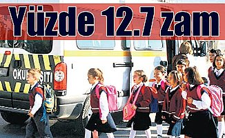 Okul servis ücretlerine yüzde 12 zam: En kısa mesafe 210 TL