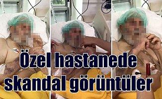 Özel hastanede yaşlı hastayla dalga geçen hemşireler