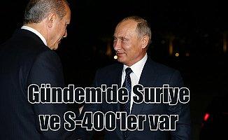 Putin Ankara'da, gündemde Suriye, Irak ve S-400'ler var