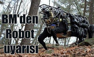 """Robotlar """"Sıkıntı"""" çıkarabilir: Otonom robotların savaş çıkarabilir"""