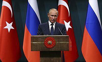 Rusya Devlet Başkanı Putin: Erdoğan'ın girişimleri ve iradesiyle önemli bir başarıya imza attık