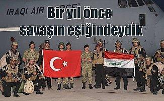 Sınırdaki tatbikat Irak güçleriyle yapılacak