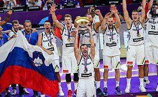 Slovenya'nın ilk Avrupa şampiyonluğu
