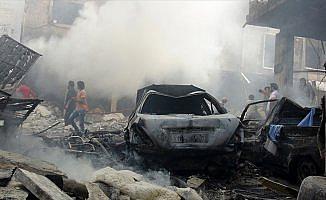 Suriye'de 'İdlib çatışmasızlık bölgesi'ne saldırılar sürüyor