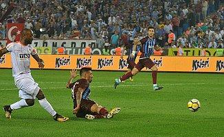 Trabzonspor şokta;Trabzonspor 3- Aytemiz Alanyaspor 4
