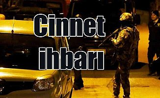 Ankara polisini harekete geçiren cinnet ihbarı
