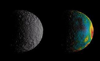Ceres'in kabuğu geçmişteki okyanusun yansıması