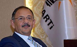 Çevre ve Şehircilik Bakanı Özhaseki: Kalkınma hızında Avrupa'da birinciyiz