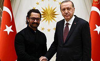 Cumhurbaşkanı Erdoğan, Khan'ı kabul etti