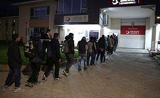 Edirne'de 109 kaçak ve sığınmacı yakalandı