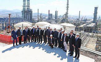 EPDK heyeti Star Rafinerisinde incelemelerde bulundu