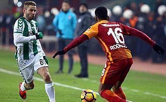 Galatasaray ile Atiker Konyaspor 33. randevuda