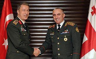 Genelkurmay Başkanı Orgeneral Akar Gürcistan'da