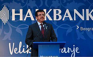 Halkbank'ın Sırbistan'daki yeni genel müdürlük binası açıldı