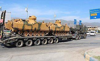 Hatay'daki askeri hareketlilik devam ediyor