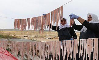 Iğdır'ın el yapımı erişteleri Avrupa pazarında