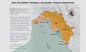 Irak güçlerinin 'tartışmalı bölgelere' yönelik operasyonu