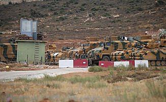 Jeneratör ve yakıt ikmal araçları sınırda konuşlandırıldı