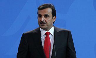 Katar Emiri Al Sani'den ambargonun kaldırılması çağrısı