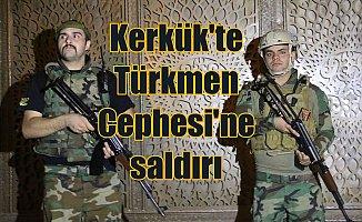Kerkük'te Türkmen Cephesi bürosuna bombalı silahlı saldırı