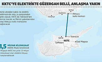 KKTC'ye elektrikte güzergah belli, anlaşma yakın