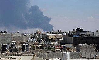 Libya'da hava saldırısında 10 kişi öldü, 15 kişi yaralandı