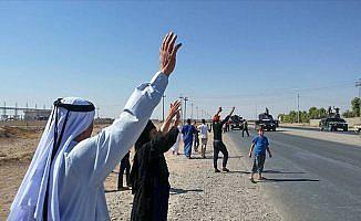 Siyasiler, Irak güçlerinin Kerkük'te kontrolü sağlamasından memnun
