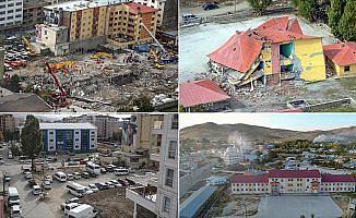 Van'da 6 yılda depremin izleri silindi
