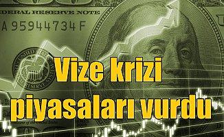 Vize krizinde son dakika : Dolar 3.78 lirayı gördü