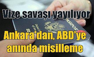 Vize savaşları; Türkiye, ABD vatandaşlarına vizeleri askıya aldı