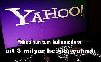 Yahoo'nun tüm kullanıcılara ait 3 milyar hesabı çalındı