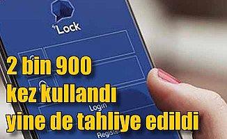 2 bin 900 kez ByLoock kullandı yine de tahliye edildi