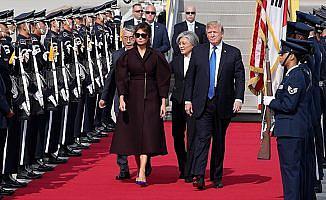 ABD Başkanı Trump'tan Güney Kore'ye ziyaret