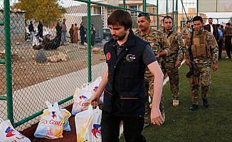 AFAD'dan Iraklı depremzedelere yardım eli