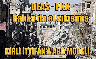 Amerika DEAŞ'le PKK'yı öpüştürmüş: Kirli ittifak