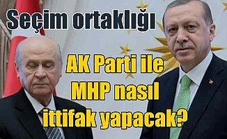 Ankara'da ittifak kulisleri; MHP ve AK Parti arasında ittifak formülü