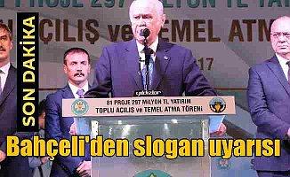 Bahçeli; NATO Türkiye'ye parmak sallıyor
