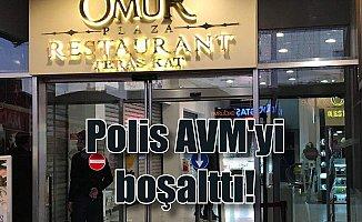 Bahçelievler'de AVM boşaltıldı: Polis 8 kişiyi gözaltına aldı