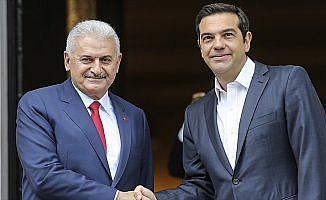 Başbakan Yıldırım'dan Yunanistan Başbakanı Çipras'a taziye mesajı