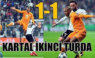 Beşiktaş 1 Porto 1 : Kartal Tur Atladı
