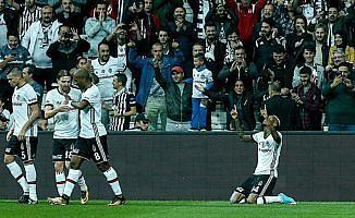 Beşiktaş evinde yenilgiyi unuttu