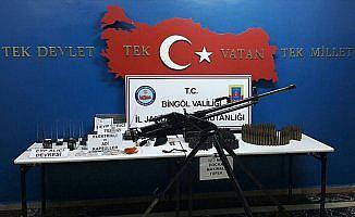 Bingöl'de PKK'ya ait uçaksavar ele geçirildi