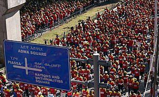 Büyük Etiyopya Koşusu yapıldı