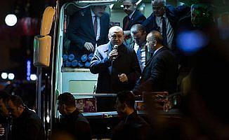 Cumhurbaşkanı Erdoğan: 2019'a hep beraber inşallah farklı yürüyeceğiz
