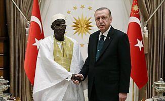Cumhurbaşkanı Erdoğan, Gambiya'nın Ankara Büyükelçisini kabul etti